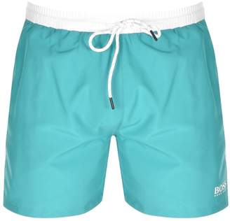 2d49353b1d HUGO BOSS Boss Business Starfish Swim Shorts Blue