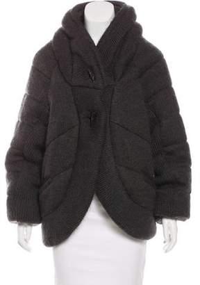 AllSaints Padded Knit Jacket