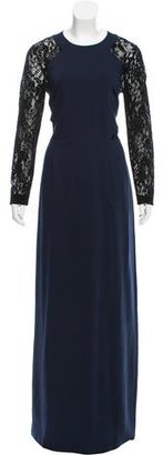 Alice by Temperley Lace-Accented Evening Dress $145 thestylecure.com