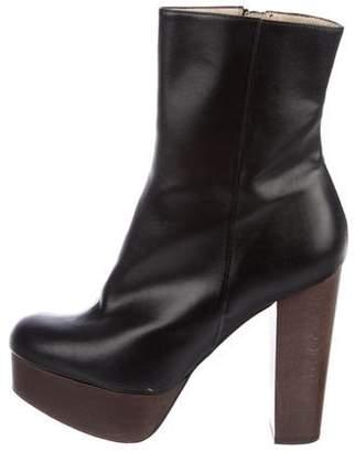 Stella McCartney Platform Mid-Calf Boots