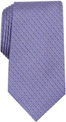Tasso Elba Men Medallion Print Tie