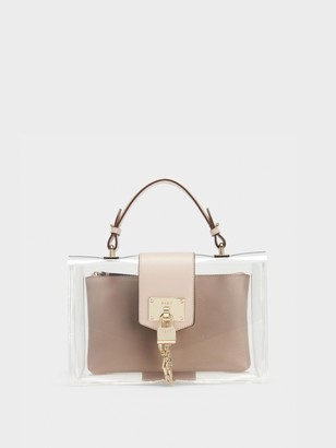 DKNY Elissa Clear Flap Shoulder Bag