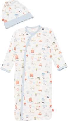 Magnetic Me Little Voyager Gown & Beanie Set