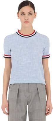 Thom Browne Cotton Tweed Top