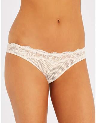 Heidi Klum Intimates Dahlia Dreams fishnet bikini briefs