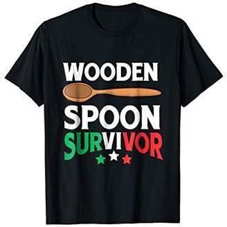 Wooden Spoon Survivor Shirt Men