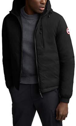Canada Goose Men's Lodge Zip-Front Hoodie Puffer Coat