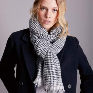 The White Company Metallic Open Weave Scarf