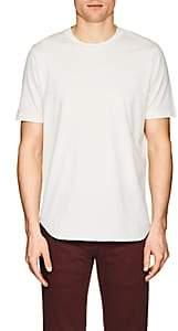 S.MORITZ Men's Cotton Jersey T-Shirt-White