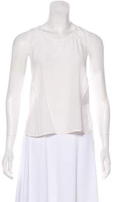 Alexander Wang Sleeveless Silk Top