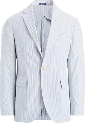 Ralph Lauren Morgan Seersucker Suit Jacket