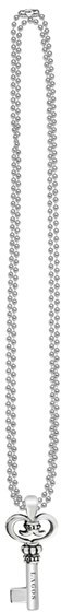 Lagos Women's Sterling Silver Ball Long Pendant Necklace