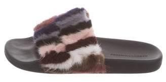 Rebecca Minkoff Patterned Mink Sandals