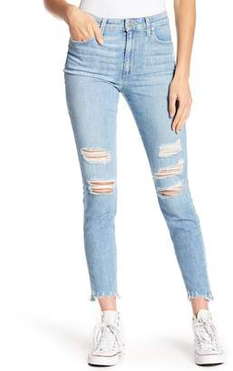 Joe's Jeans The Charlie High Waisted Destroyed Ankle Jeans