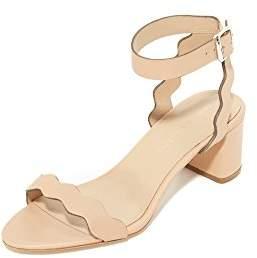 Loeffler Randall Women's EMI Signature Scallop Block Heel