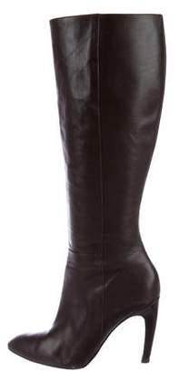 Via Spiga Leather Knee-High Boots