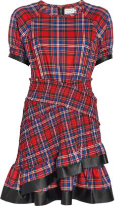 Tanya Taylor Plaid Flannel Nicole Dress