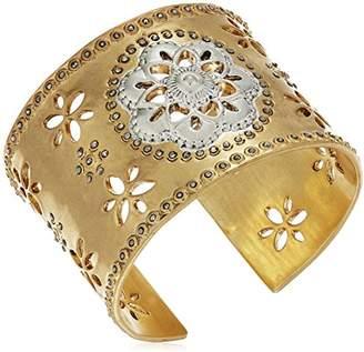 Lucky Brand Statement Floral Cuff Bracelet