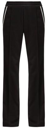 Moncler Tech Jersey Trousers - Womens - Black