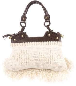 Salvatore Ferragamo Knit Shoulder Bag