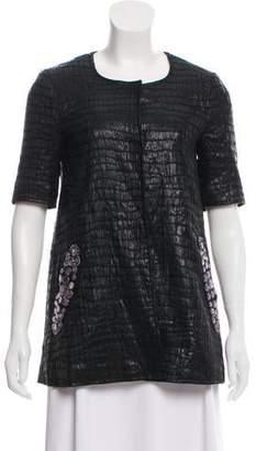 Gryphon Textured Short Sleeve Jacket