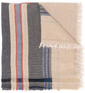 Daniele Alessandrini striped scarf