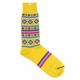 40 Colori Gold Shapes & Stripes Organic Cotton Socks