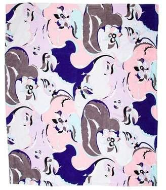 Emilio Pucci Printed Beach Towel