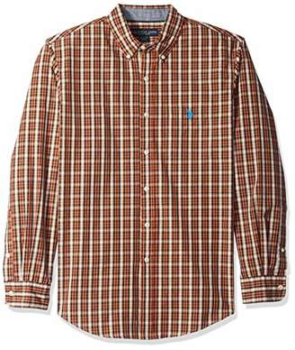U.S. Polo Assn. Men's Long Sleeve Classic Fit Plaid Shirt