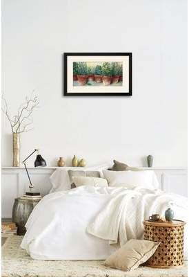 Gracie Oaks 'Potted Herbs II' Framed Print