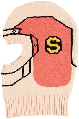 Stella McCartney Helmet Cotton Tricot Ski Mask
