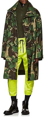 Cmmn Swdn Men's Artem Camouflage Ripstop Car Coat - Green