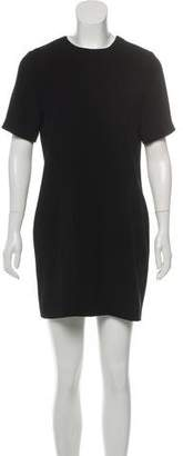 Alexander Wang Short Sleeve Mini Dress