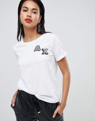 Armani Exchange 3d logo t-shirt