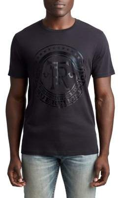 True Religion MENS TRUE CREST GRAPHIC TEE