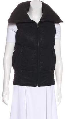Ralph Lauren Black Label Zip-Up Puffer Vest
