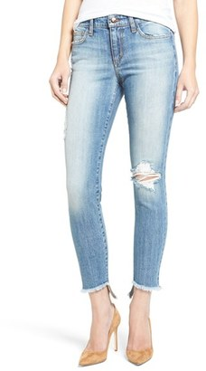 Women's Joe's Jeans Blondie Destroyed Ankle Skinny Jeans $189 thestylecure.com