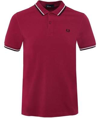 Fred Perry Men's Twin Tipped M3600 Polo Shirt M