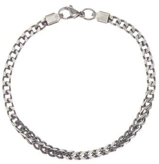 März 4mm Stainless Steel Box Chain Bracelet
