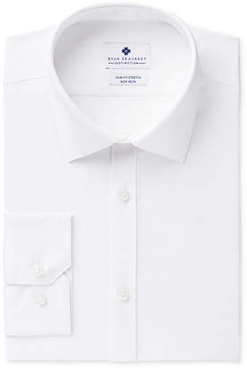 Ryan Seacrest Distinction Men's Ultimate Extended Sizing Slim-Fit Non-Iron Performance Stretch Dress Shirt, Created for Macy's