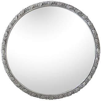 One Kings Lane Vintage Art Deco-Style Round Mirror - Fleur de Lex Antiques
