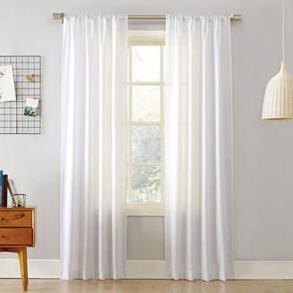 JCPenney Lichtenberg Remi Solid Rod-Pocket Curtain Panel