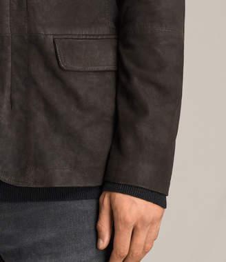 AllSaints Balmorro Leather Blazer