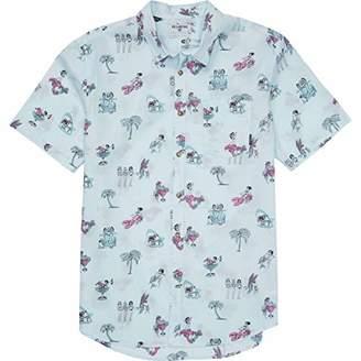 Billabong Men's Sundays Floral Short Sleeve Top