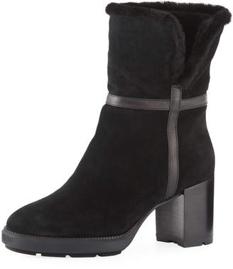 Aquatalia Isolda Suede Tall Booties
