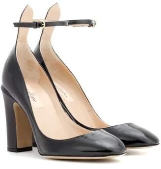 Valentino Tan-go patent leather pumps