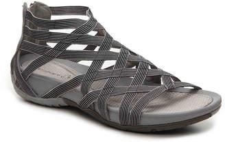 Women's Samina Gladiator Sandal -Black/Grey $69 thestylecure.com