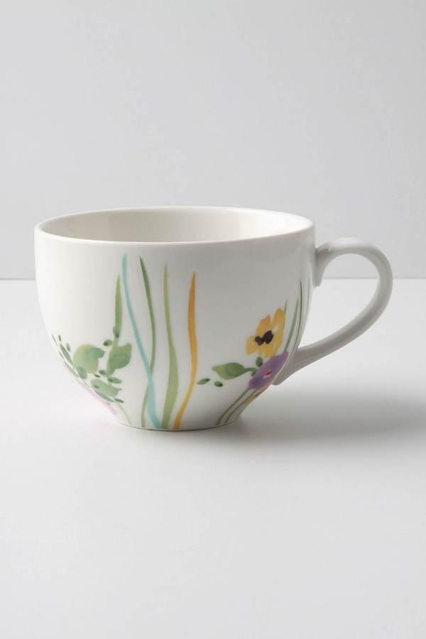 Anthropologie Verdant Acres Mug