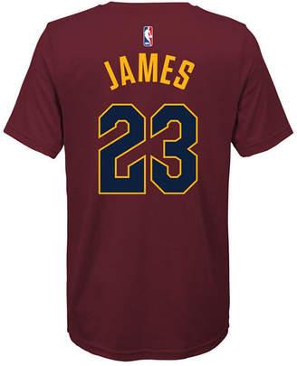 Nike Lebron James Cleveland Cavaliers Icon Name & Number T-Shirt, Big Boys (8-20)