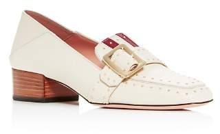 Bally Women's Janelle Studded Block-Heel Loafers